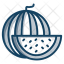 Watermelon Slice Summer Fruit Watermelon Icon