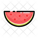 Slice Watermelon Fruit Icon