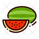 Fruit Food Watermelon Icon