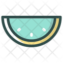 Water Melon Fruit Summer Icon