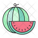 Watermelon Fruit Food Icon