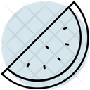 Summer Water Melon Fruit Icon