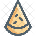 Summer Vacation Watermelon Icon