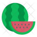Water Melon Summer Icon