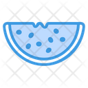 Watermelon Fruit Healthy Icon