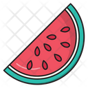Watermelon Slice Fruit Icon