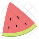 Watermelon Fruit Health Icon