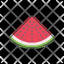 Watermelon Fruit Food Icon