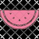Watermelon Fruit Fruit Slice Icon