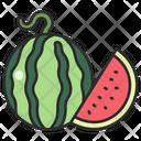 Watermelon Sweet Fruit Icon