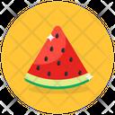 Watermelon Healthy Food Organic Fruit Icon