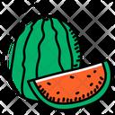 Fruit Watermelon Cantaloupe Icon