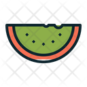 Melon Juicy Fruit Icon