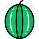 Watermelon Food Eating Icon