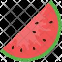 Watermelon Slice Food Icon