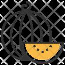 Watermelon Fruit Healthy Icon
