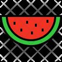 Watermelon Fruit Fresh Icon