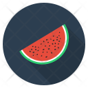 Watermelon Fruit Vegetable Icon