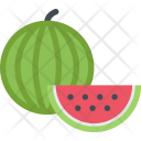 Watermelon Cooking Food Icon