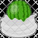 Watermelon Tart Watermelon Whip Whipped Cream Icon