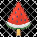 Watermelon Popsicle Ice Cream Summer Dessert Icon