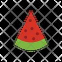 Watermelon Watermelon Slice Fruit Icon