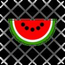 Watermelon Food Fruit Icon