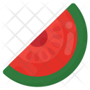 Watermelon Slice Icon