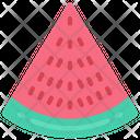 Watermelon Slice Food Eating Icon