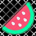 Watermelon Fruit Spring Icon