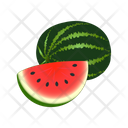 Watermelon With Slice Watermelon Fruit Icon