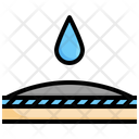 Waterproof Waterproof Fabric Features Icon
