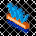 Drawing Drop Editable Icon