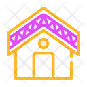 Building Roof Waterproof Icon