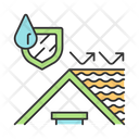 Waterproof House Roof Icon