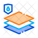 Waterproof Material Icon