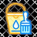 Bucket Brush Color Icon