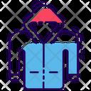 Waterproof Raincoat Icon