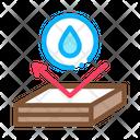 Waterproof Roof Housetop Icon