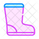 Waterproof Boot Color Icon