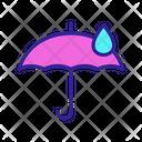 Waterproof Umbrella Icon
