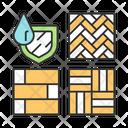 Waterproof Wood Flooring Icon
