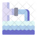 Waterways Enviroment Climate Change Icon