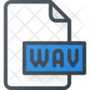 Wav File Audio Icon