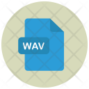 Wav Audio File Icon