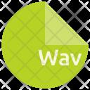 Wav File Format Icon