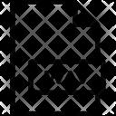 Wav Format File Icon