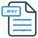 Wav File Sheet Icon