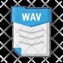 File Wav Document Icon