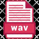 Wav File Formats Icon